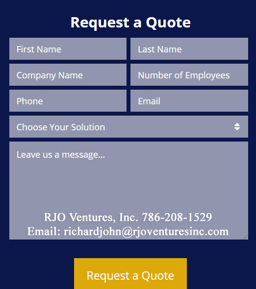 Request a Quote for Microsoft Azure Cloud Solution by RJO Ventures, Inc. (www.RJOTechnology.com)