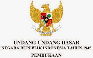 Teks Pembukaan UUD 1945 Negara Republik Indonesia