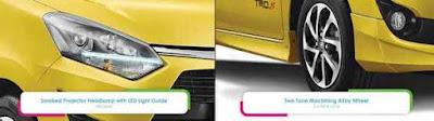 mobil agya 2017 terbaru facelift