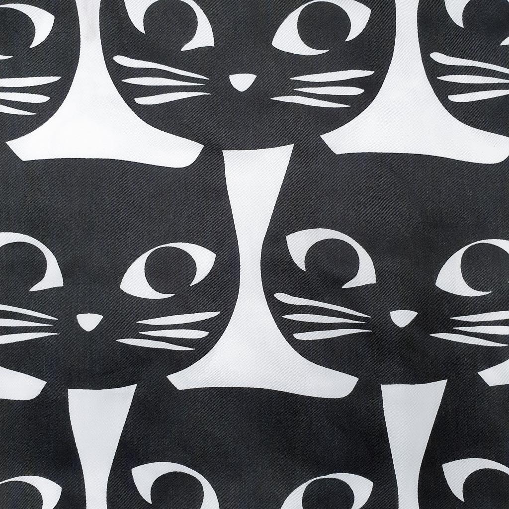 mattram retro cats curtain fabric ikea corsetmaking woven minn's things