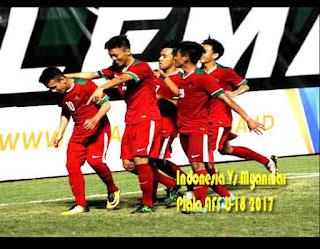 Indonesia Bungkam Myanmar Piala AFF U-18 2017