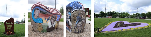 North Central Iowa Freedom Rock Tour - Webster County Freedom Rock, Fort Dodge, Iowa