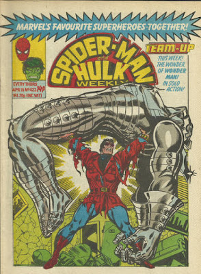 Spider-Man and Hulk Weekly #423, with Team-Up, Wonder Man
