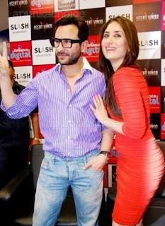 Foto Kareena Kapoor dan Saif Ali Khan