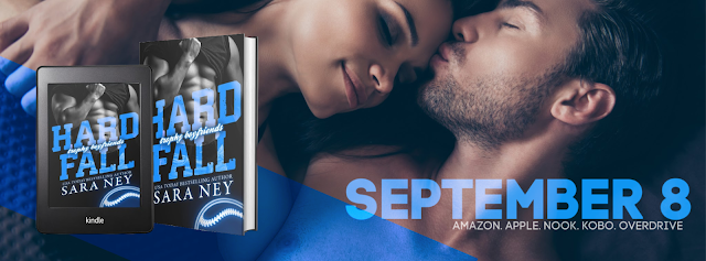Cover Reveal: Hard Fall by Sara Ney
