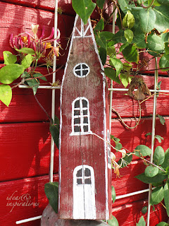 Schwedenhaus für den Garten