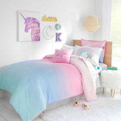5 Desain Kamar Tidur Unicorn ini Sangat Disukai Anak-anak