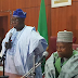 Obasanjo pays Borno state governor courtesy visit( SEE PHOTOS)