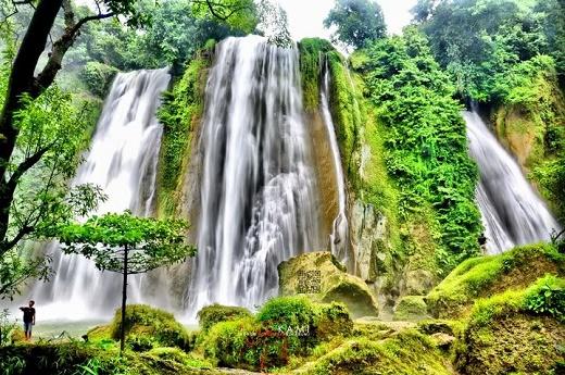 Curug Cikaso, Air Terjun Indah di Sukabumi, Jawa Barat