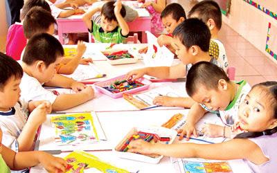 Thiếu trường mầm non cho trẻ em