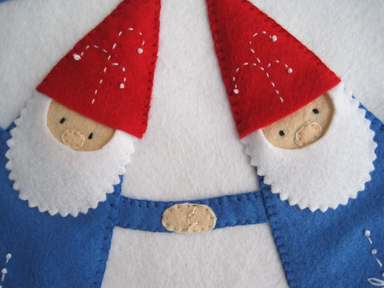 Creative Breathing Gnome Penny Rug
