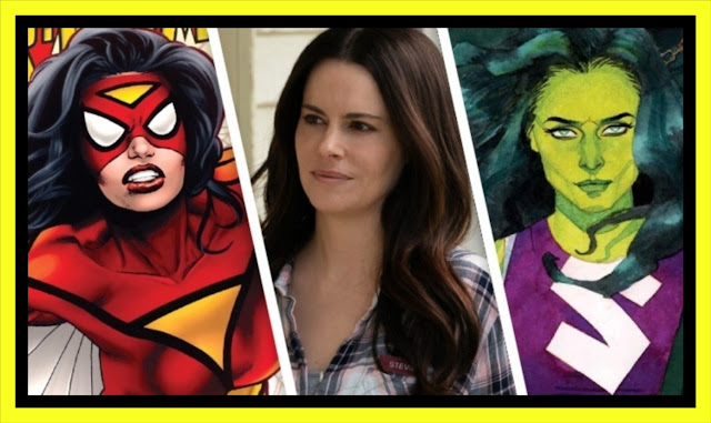 ▶ EMILY HAMPSHIRE (Schitt's Creek) se postula para SHE-HULK o SPIDER-WOMAN