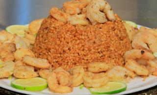 ارز بالجمبري , شوربة سي فود