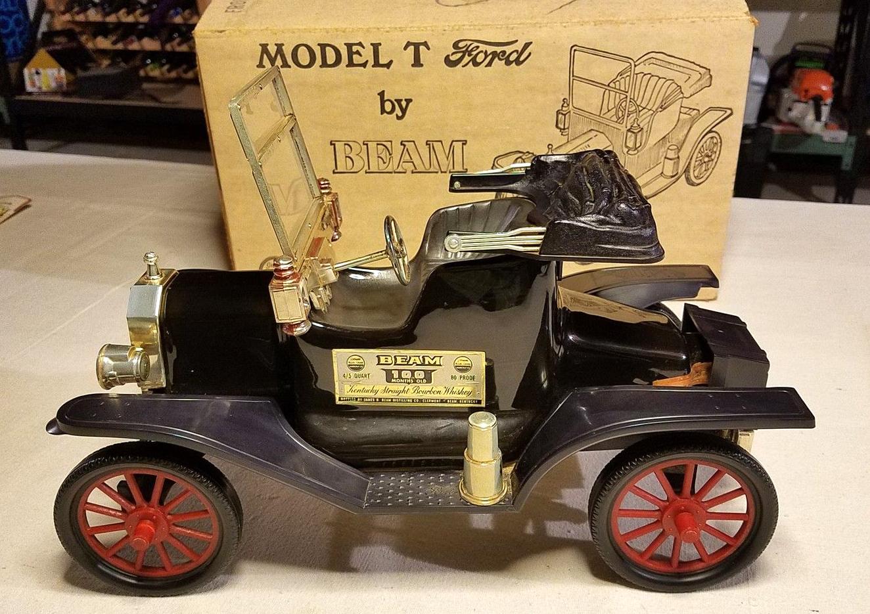 Jim Beam Decanter Old Car