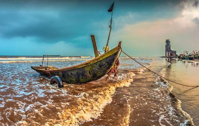 Biển quê em - Những thước phim tuyệt đẹp tại nhà thờ đổ Hải Lý