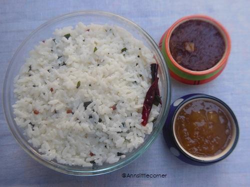 Curd Rice, Thayir Sadam
