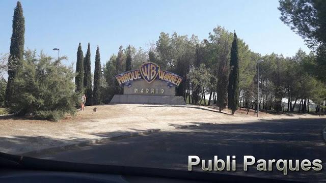 Entrada Parque Warner Madrid