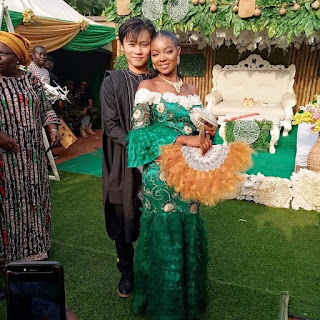Anambra Lady Marries Asian Heartthrob, Mr Long Ting (photo)
