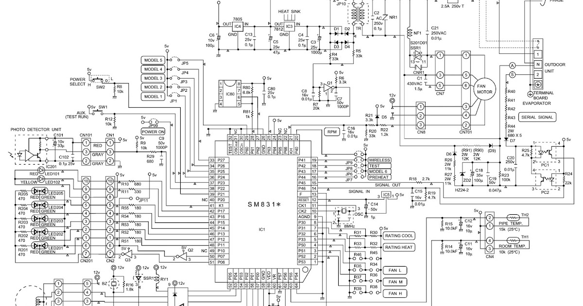 Electronic Equipment Repair Centre   Sharp Ah-x108e