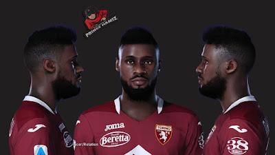 PES 2021 Faces Nicolas N'Koulou by Prince Hamiz