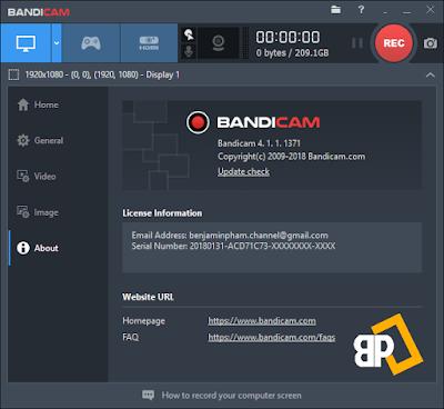 Screenshot Bandicam 4.1.1.1371 Full Version