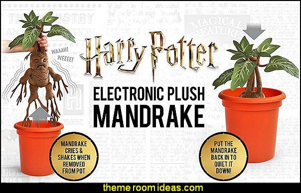 Harry Potter Electronic Plush Mandrake harry potter bedroom decor