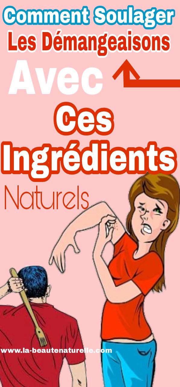 Comment soulager les démangeaisons avec ces ingrédients naturels