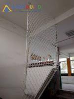 BabyBuild 樓梯安全網防護工程