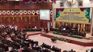 Melalui Rapat Paripurna, APBD Riau Tahun 2021 Disahkan Sebesar Rp9.132 T