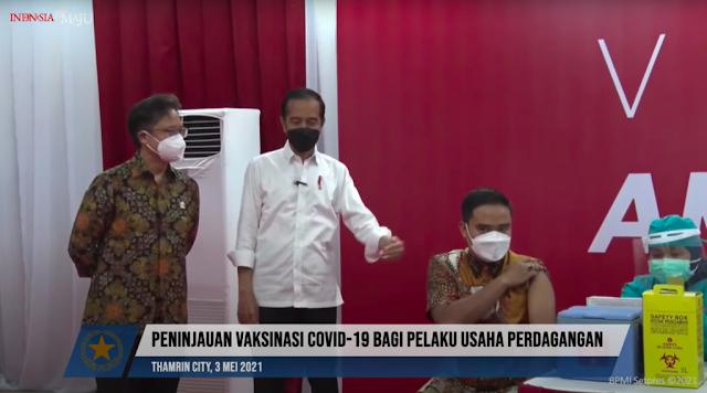 Cegah Penularan Covid-19, Jokowi Ingatkan Lagi untuk Tetap Memakai Masker