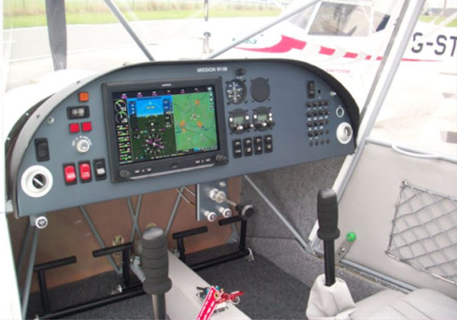 Lambert Mission M108 cockpit