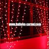 Red LED Curtain Lights / Lampu Tirai LED Merah