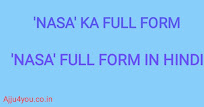 nasa ka full form