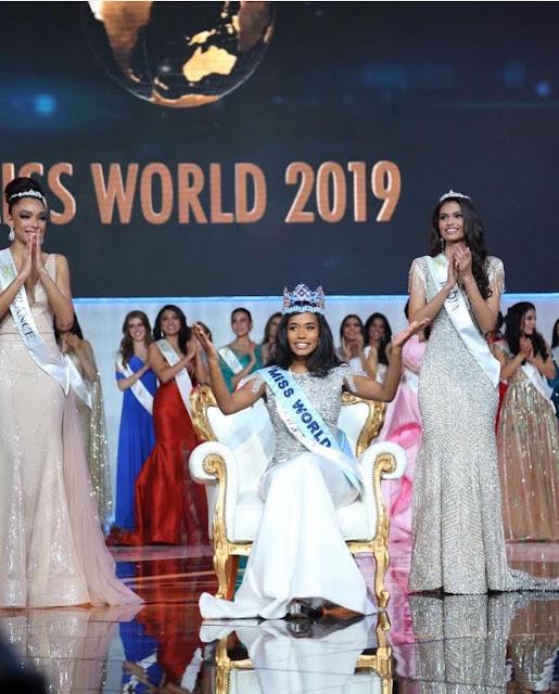 Photo : Miss Jamaica Wins Miss World