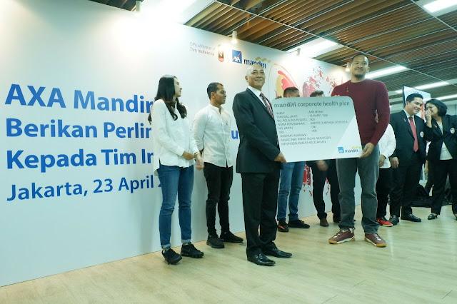 atlet indonesia terima dukungan axa mandiri