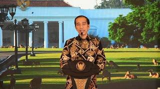 Jokowi Sudah Ada di Istana Kepresidenan Bogor dan Sampaikan Hal Ini Terkait Omnibus Law