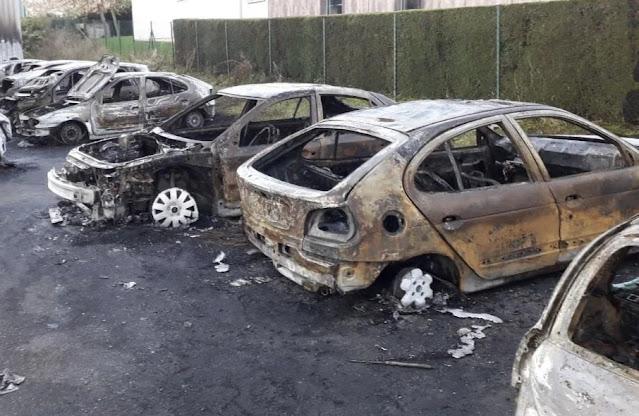 voiture vandalise, incendie que paie la case