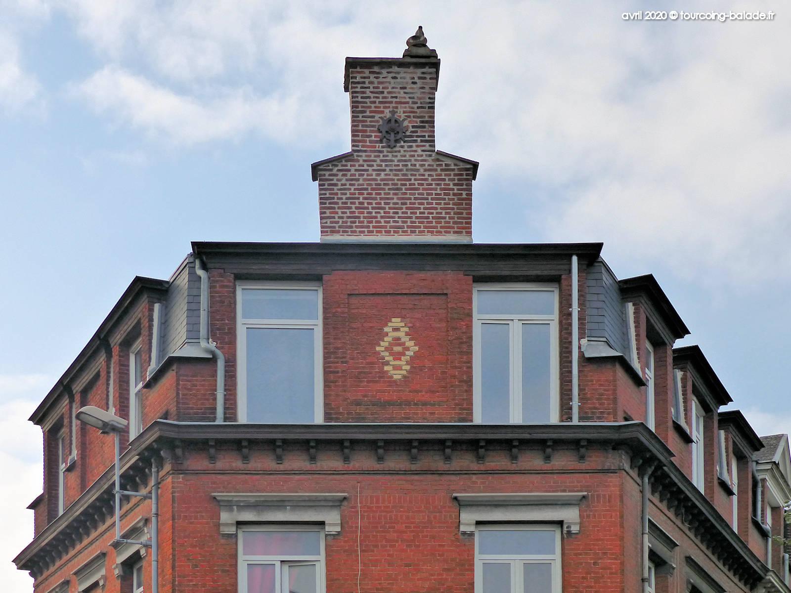 Tourcoing, 60 boulevard Gambetta, 2020 - Ancre