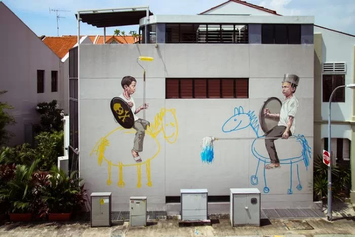 Ernest Zacharevic (стрит арт)