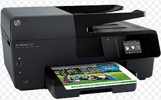 Drucken, Scannen, kopieren und Faxen von Dateien mit höchster Qualität mit dem HP Officejet 6820 E-all-in-One-Drucker.
