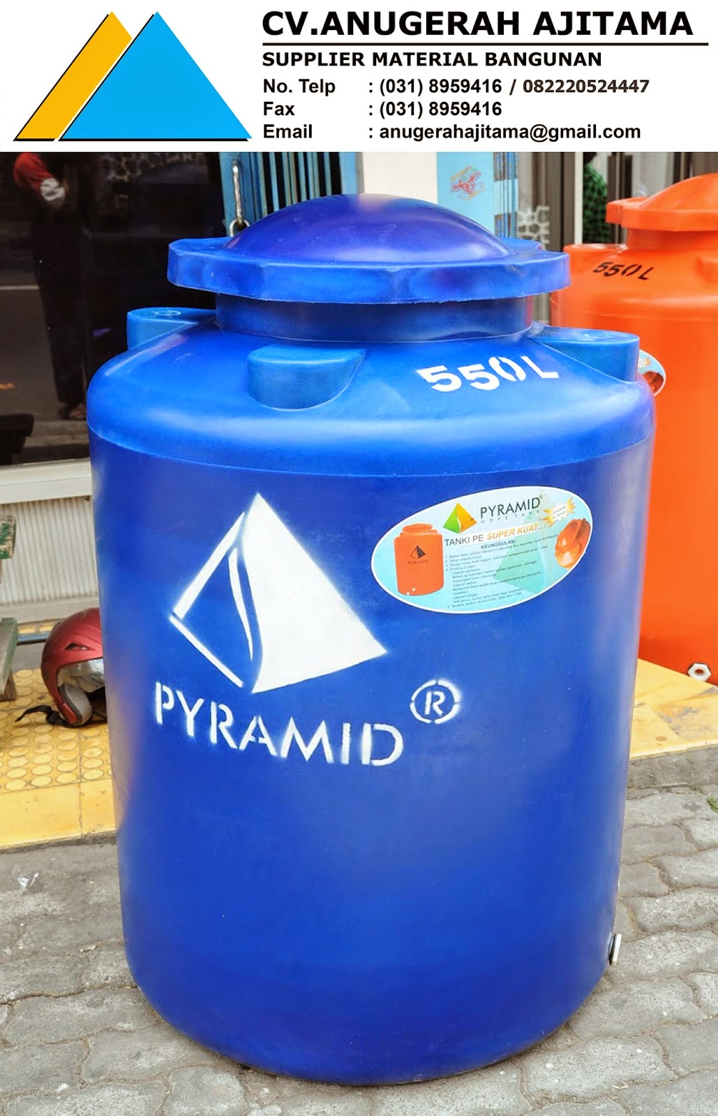 SUPPLIER TANDON AIR PYRAMID