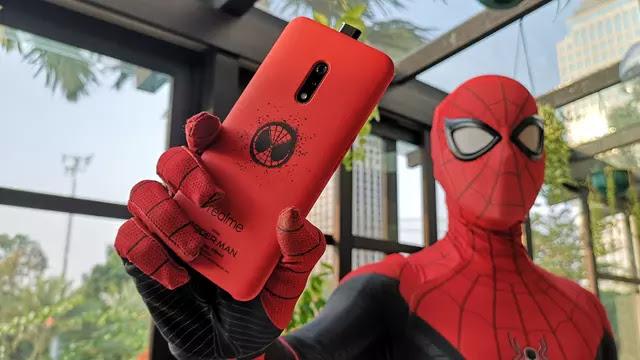 Realme X Edisi Spider-Man Juga Hadir di Indonesia, Apa Bedanya?