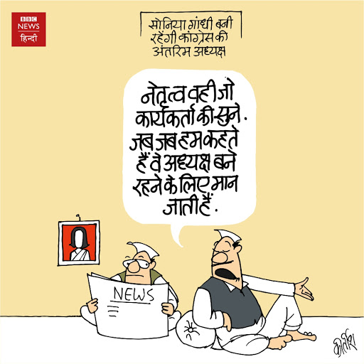 Congress, Cartoon, Sonia Gandhi, Rahul Gandhi