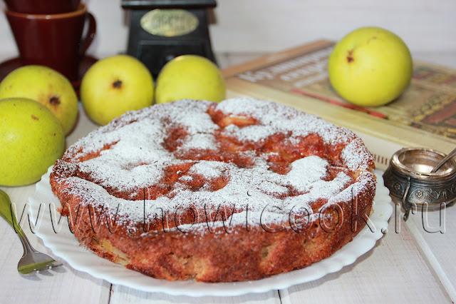 рецепт итальянского грушевого пирога