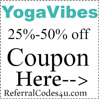 YogaVibes Promo Codes, Coupons & Discount Codes 2018-2019 Jan, Feb, March, April, May, June, July, Aug, Sep, Oct, Nov, Dec
