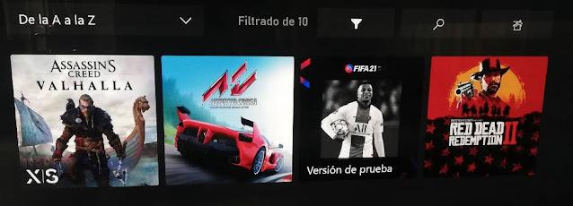 Mover juegos a HDD externo en XBOX