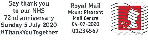 NHS royal mail