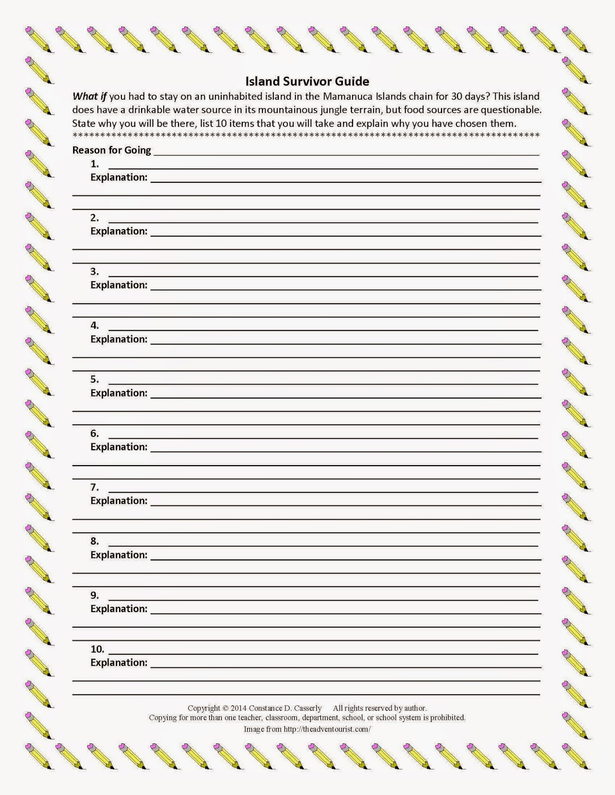 Teach It Write What If 3 Writing Prompts
