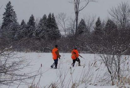 Σε περίοδο χιονοπτώσεων απαγορεύεται αυστηρά το κυνήγι