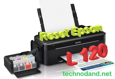 Cara Reset Printer Epson L120 indikator berkedip [ service required ] [ waste ink full ]